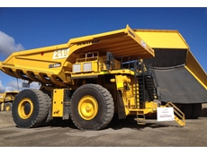 The Komatsu haul truck with a Duratray SDB