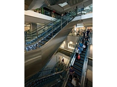 Kone TravelMaster 110 escalators for commerical environments