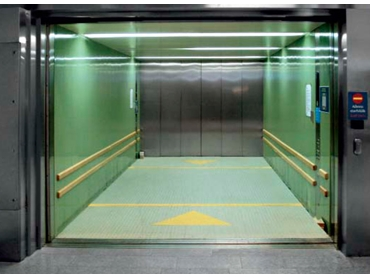 Fast, powerful vehicle lift also serves as a multipurpose elevator