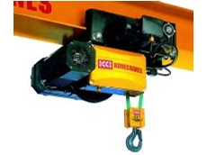 The XB electric belt hoist.