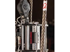 RopeQ diagnoses the strength and remaining life of wire rope hoists