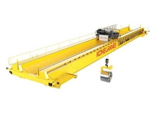 Konecranes UNITON crane can be easily customised to suit customer requirements