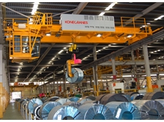 Konecranes offers an intelligent crane solution for the steel industry