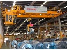 Konecranes offers an intelligent crane solution for the steel industry