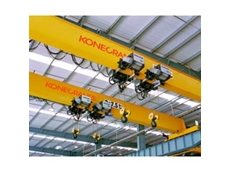 Overhead Cranes, Chain Hoists, Light Crane Systems and Jib Cranes from Konecranes
