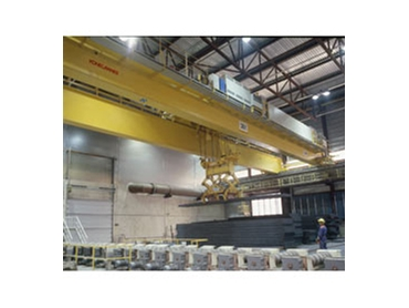 A wide range of lifting systems are available from Konecranes