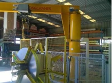 The fully relocated Konecranes CXT crane at Beenleigh, Qld