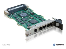 High-performance IPv4/IPv6 Kontron Gigabit Ethernet Switch