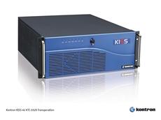 Kontron Australia's KISS 4U KTC-5520 Transportation rack mount server.