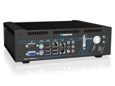 Kontron concept box 751: Fanless dualcore embedded box PC