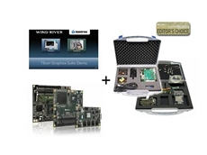 Kontron microETXexpress Starterkit VxWorks Selected for Editor's Choice Award