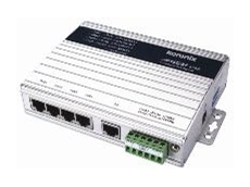 JetNet 3705 industrial PoE switch