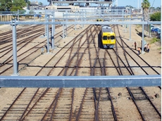 Korvest Galvanisers is providing galvanising services for the rail electrification project in South Australia