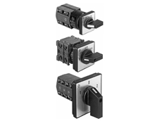 CG, CH and CHR series control switches from Kraus & Naimer