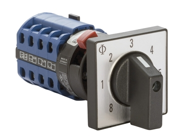 Reliable industrial rotary cam switches