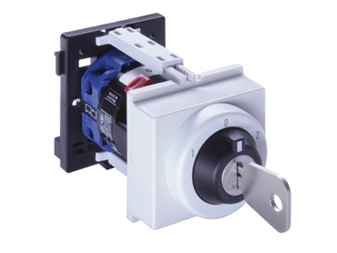 Cam switches are suitable for either vertical or horizontal wiring access