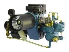 The Kroll BR series multi-fuel burner