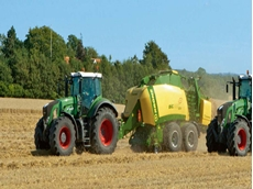 High-speed large square balers