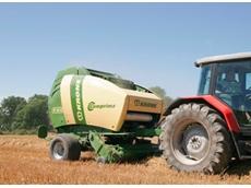 Krone Coprima Round Balers from Kubota Tractor