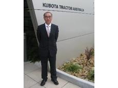 Mr Kawasaki - Managing Director, Kubota Tractor Australia