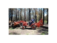 The BX25 TRB is a versatile sub compact tractor/loader/backhoe, available from Kubota Tractor Australia