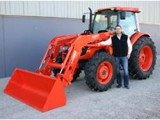 Kubota's new M40 Series Loaders