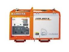 Kubota's New GL6000/9000 Lowboy Silent Generators
