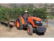Kubota Tractor Australia's M8540 narrow tractor
