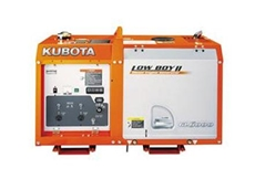 Compact Single Phase Diesel Generators from Kubota