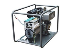 DW160E diesel welder generator