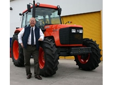 Scott Maxwell with a Kubota  tractor sold on Kubota Finance