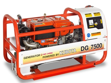 The DG 7500 generator is easy-to-operate and provides clean and dependable power.