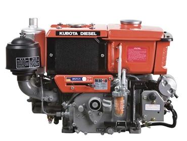 Kubota Releases Rk Series Horizontal Diesel Engines
