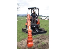 New mini excavator added to the range