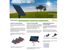 Actuation solutions for solar tracking from LINAK