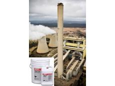 Main: Concrete chimney stacks; inset: Fixmaster Magna-Crete