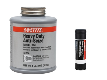LOCTITE heavy duty metal free anti-seize and anti-seize stick