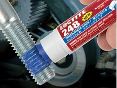LOCTITE 248 medium strength blue threadlocker stick