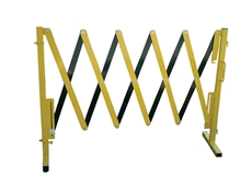 Portable expandable safety barrier