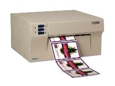 The LX800 -- high quality colour labels on demand.