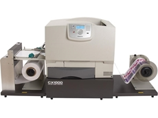 Print high quality CX1000 colour laser label printer