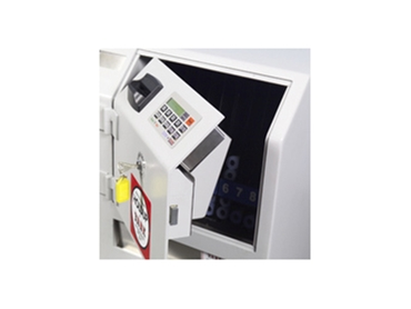 Safe and secure cash handling for secure premises