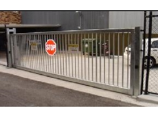 Car park security gates
