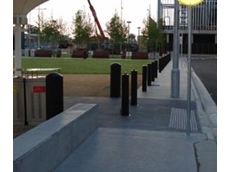 Security bollards and gates