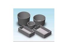 Precast concrete planters and bollards