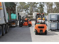 The EP forklifts have been operating on Albright's Sydney site for over six months
