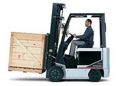 BX Pneumatic Series Electric Forklifts trucks from The Lencrow Group