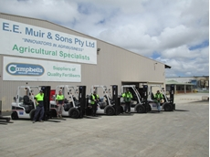 Lencrow wins new 35 forklift fleet contract