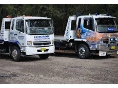 Lencrow tilt trucks offer a quick and reliable response time for unit deliveries