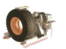 SWIFTA for safe tyre changing on underground mining vehicles